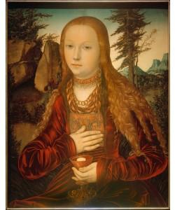 Lucas Cranach der Ältere, Die Heilige Barbara