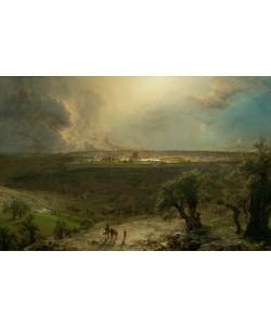 Frederic Edwin Church, Jerusalem vom Ölberg gesehen
