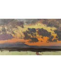 Frederic Edwin Church, Himmel bei Sonnenuntergang, Jamaika, Westindische Inseln.
