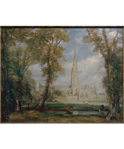 John Constable, Kathedrale von Salisbury