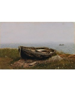 Frederic Edwin Church, Verlassenes Ruderboot