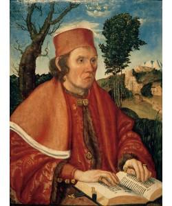 Lucas Cranach der Ältere, Bildnis eines Juristen