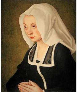 Lucas Cranach der Ältere, Bildnis einer Stifterin