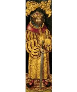 Lucas Cranach der Ältere, Der heilige Stephan von Ungarn (?)
