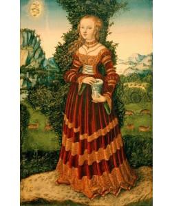 Lucas Cranach der Ältere, Die heilige Maria Magdalena