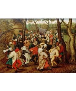 Pieter Brueghel der Jüngere, Rückkehr von der Kirmes