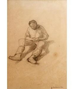 Gustave Caillebotte, Etude pour les raboteurs de parquet