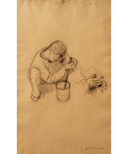 Gustave Caillebotte, Etude pour les peintres en bâtiment