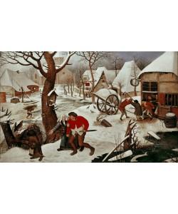 Pieter Brueghel der Jüngere, Rückkehr von der Herberge