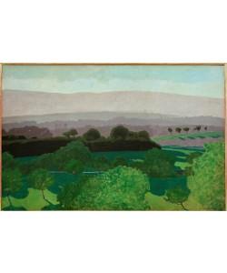 Felix Vallotton, Paysage vaudois, Romanel