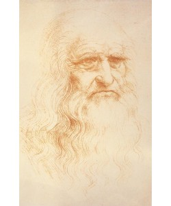 Leonardo da Vinci, Selbstbildnis