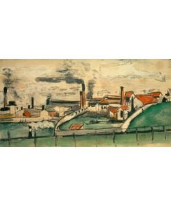 Paul Cézanne, Fabrik in L'Estaque