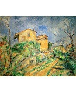 Paul Cézanne, Maison Maria mit Blick auf das Château Noir