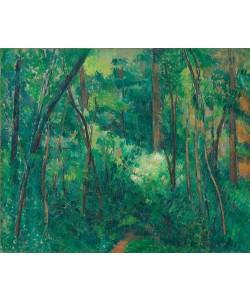 Paul Cézanne, Waldinneres
