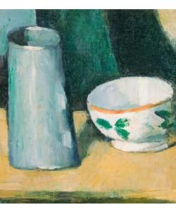 Paul Cézanne, Schale und Milchkrug