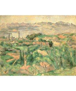 Paul Cézanne, L'Estaque et le Golfe de Marseille (La Baie de Marseille vu