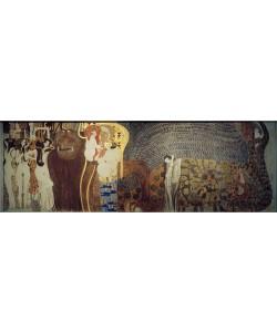 Gustav Klimt, Beethovenfries – Die feindlichen Gewalten