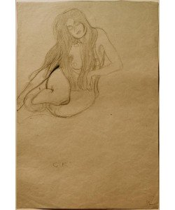 Gustav Klimt, Studie für die 'Wollust' im 'Beethovenfries'