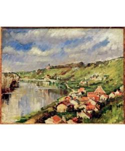 Paul Cézanne, Paysage au bord de l'Oise