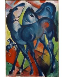 Franz Marc, Die blauen Fohlen