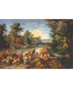 Jan Brueghel der Ältere, Landstraße