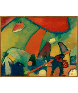 Wassily Kandinsky, Strandszene