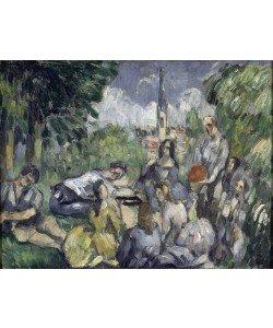 Paul Cézanne, Le Déjeuner sur l'herbe
