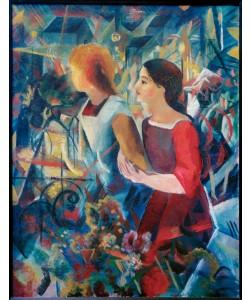 August Macke, Zwei Mädchen