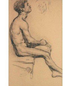 Paul Cézanne, Aktstudie eines Schwarzen