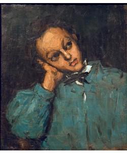 Paul Cézanne, Knabe mit aufgestütztem Arm