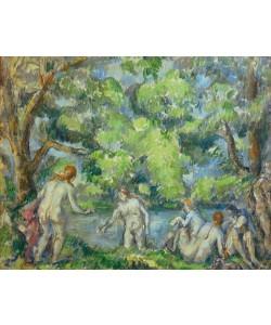 Paul Cézanne, Badende (Undinen)