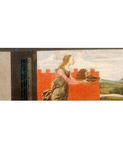 Sandro Botticelli, Salome mit dem Haupt Johannes des Täufers