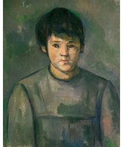 Paul Cézanne, Portrait de fillette