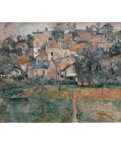 Paul Cézanne, L'Hermitage, Pontoise