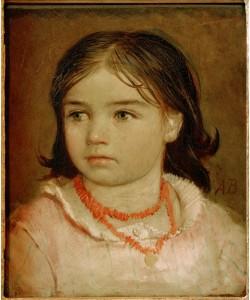 Arnold Böcklin, Kinderbildnis der Tochter Lucia