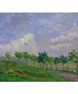 August Macke, Landschaft bei Kandern