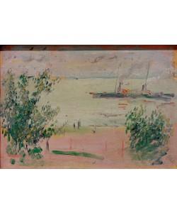 August Macke, Bei Hersel am Rhein