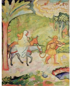 August Macke, Flucht nach Ägypten