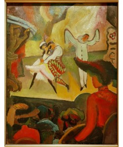 August Macke, Russisches Ballett I