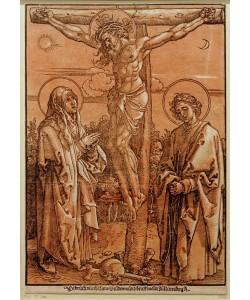 Albrecht Dürer, Christus am Kreuz zwischen Maria und Johannes