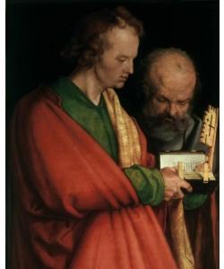 Albrecht Dürer, Evangelist Johannes und Apostel Petrus