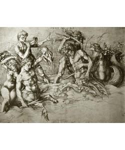 Albrecht Dürer, Kämpfende Seekentauren
