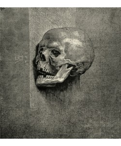 Albrecht Dürer, Ein Totenkopf
