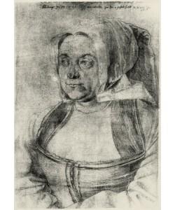 Albrecht Dürer, Agnes Dürer in niederländischer Tracht