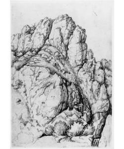 Albrecht Dürer, Bergwand mit Schlucht