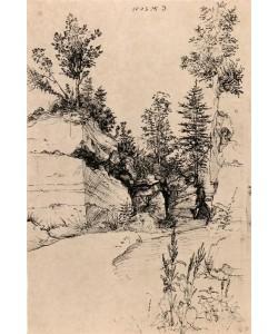 Albrecht Dürer, Ausgang aus einem Steinbruch