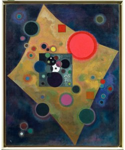 Wassily Kandinsky, Akzent in Rosa