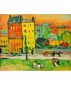 Wassily Kandinsky, Häuser in München