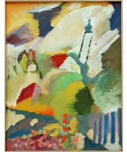 Wassily Kandinsky, Murnau mit Kirche I