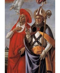 Sandro Botticelli, Krönung Mariä mit vier Heiligen